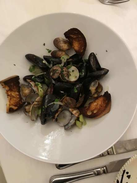 Seafood in Matera