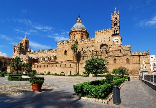 European travel scan Palermo