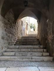 Alley in Dubrovnik