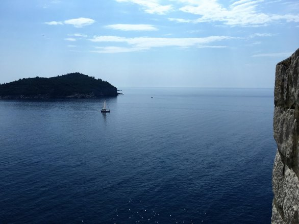 View from the docks in Dubrovnik