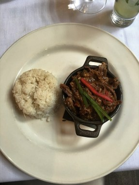 Ropa Vieja, classic Cuban cuisine, translates into old clothes.