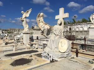 La Reina cemetery in Cienfuegos.
