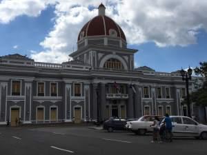 City Hall on Jose Marti Plaza