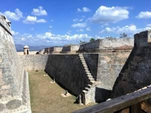 Moat of El Morro Fortress
