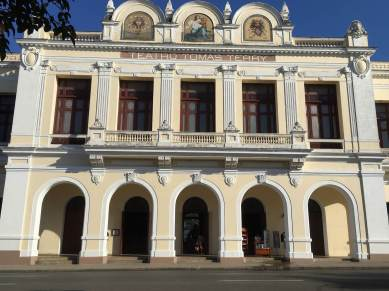 Terry Theatre in Cienfuegos.