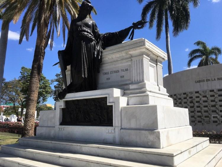 Tomb of Tomas Estrada Palma, first president of Cuba.