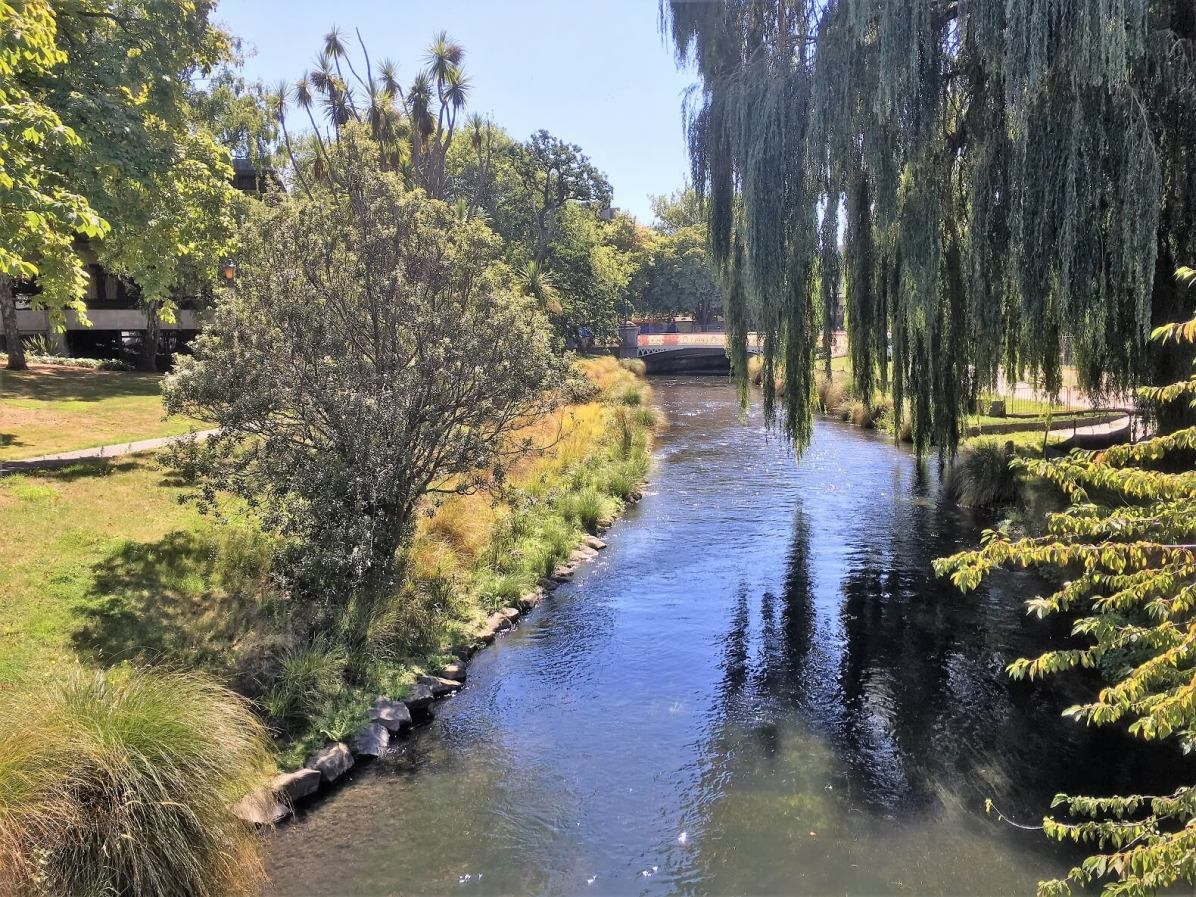 Avon River in Christchurch
