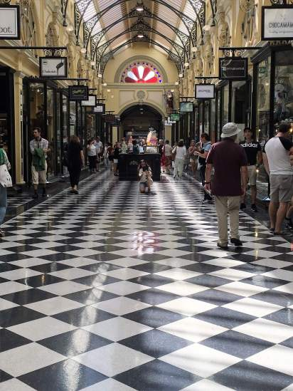 Melbourne's arcades are a shopping wonderland