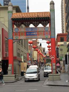 Chinatown in Melbourne