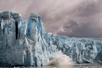 Crumbling Glacier in Patagonia