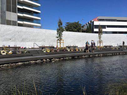 Earthquake memorial in Christchurch