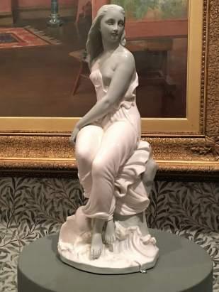 Statue in Melbourne Art Museum
