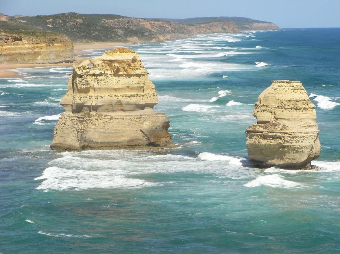 The 12 Apostles near Melbourne