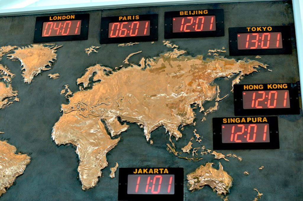 More time zones equals more jet lag