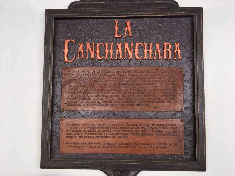 Birthplace of the canchanchara cocktails