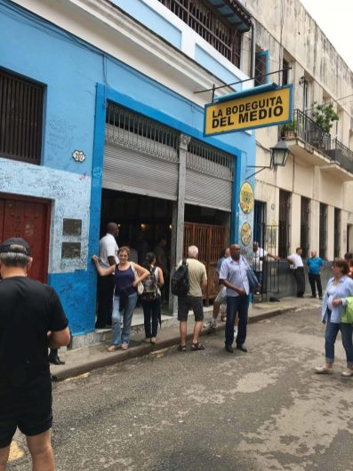 Birthplace of the mojito cocktails