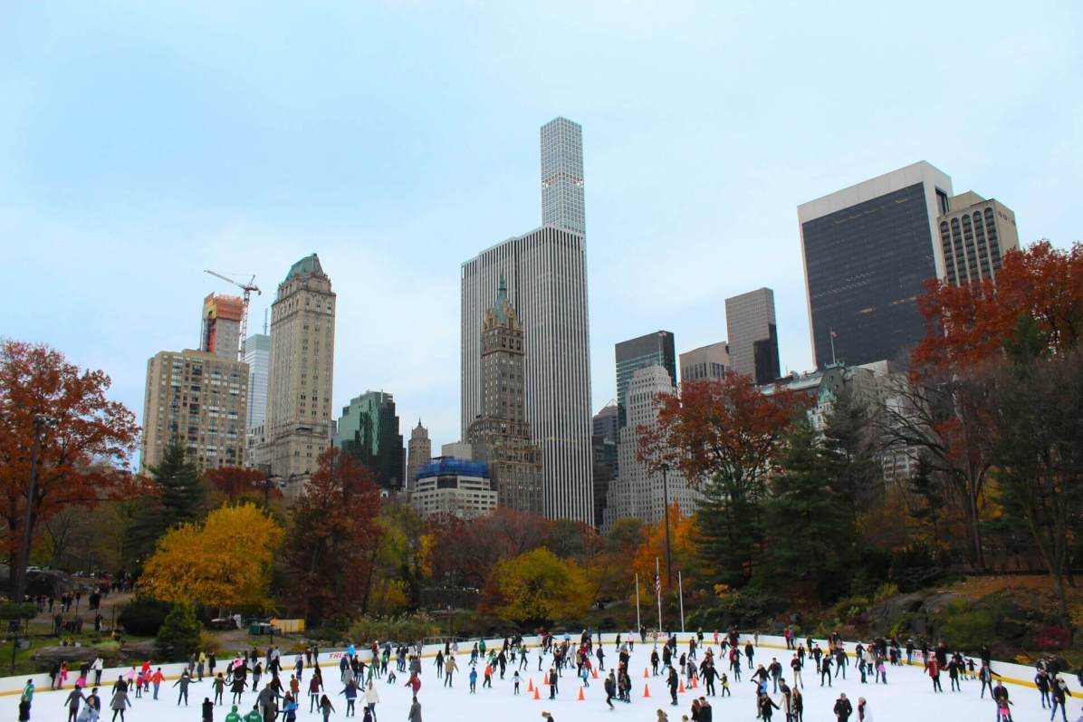 Unique New York City activities, Skating Central Park in New York City