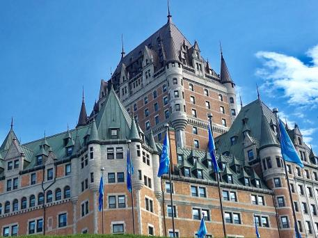 Stately Chateau Frontenac