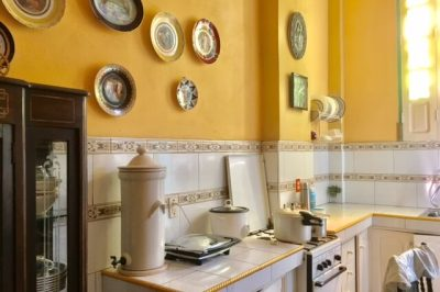 Kitchen in a Santiago, Cuba casa particular