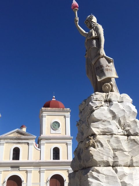 Gibara square. Squares are found in all Cuban towns