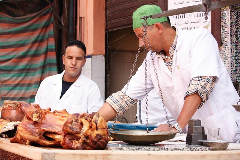 best street food in Marrakech