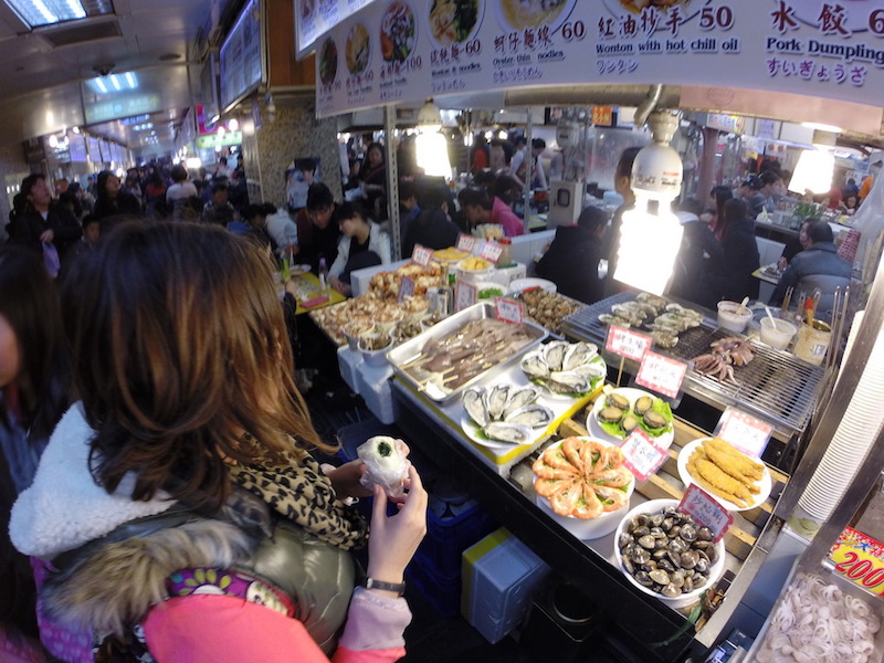world's best street food in Taiwan