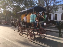Shared taxi in Holguin, common in Cuban towns