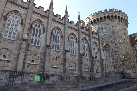 Dublin castle is a reason to fall in love with Ireland