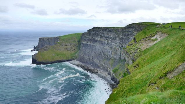 The coastline is a reason to fall in love with Ireland