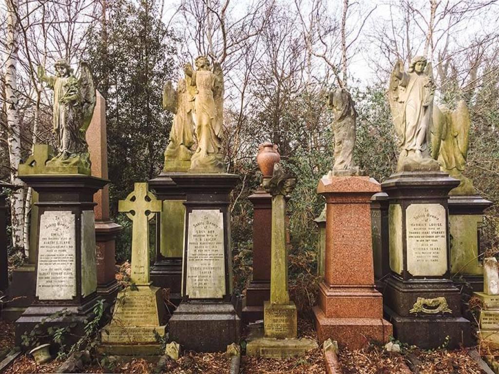 Abney Park. One of London's unique European cemeteries