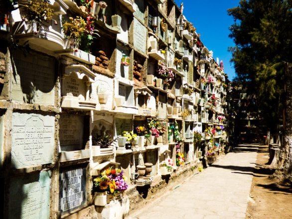 Historic cemetery of Mexico