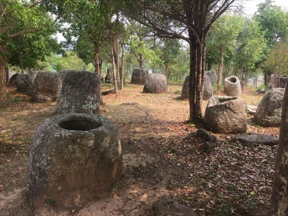 Burial jars of Laos are one of the strange and unusual cemeteries of Asia