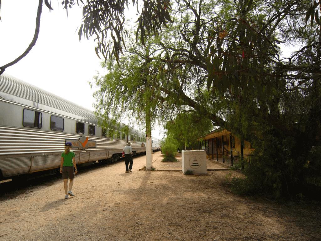 The India Pacific scenic railway journeys