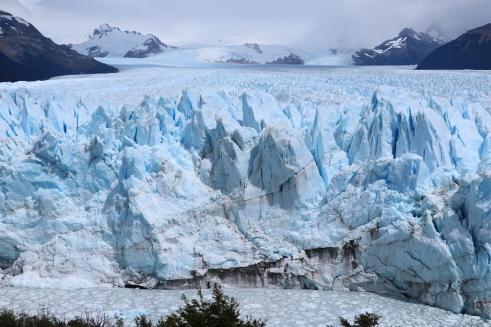 Perito Moreno glacier you can see on the tours
