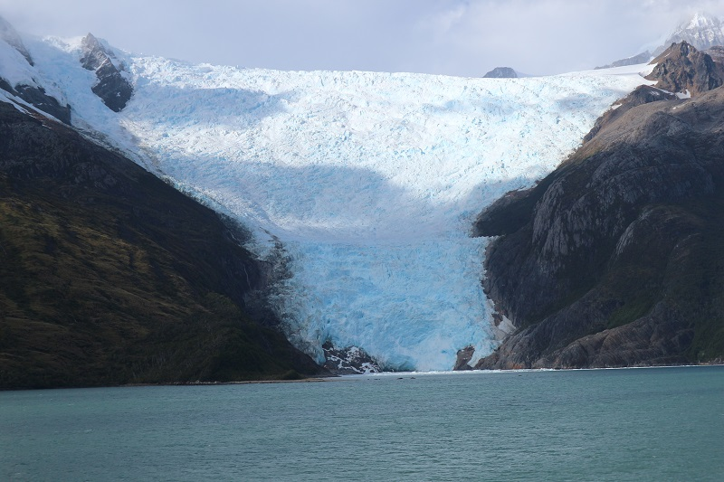 Glacier Alley view on strait of magellan cruise Cape Horn and Straits of Magellan