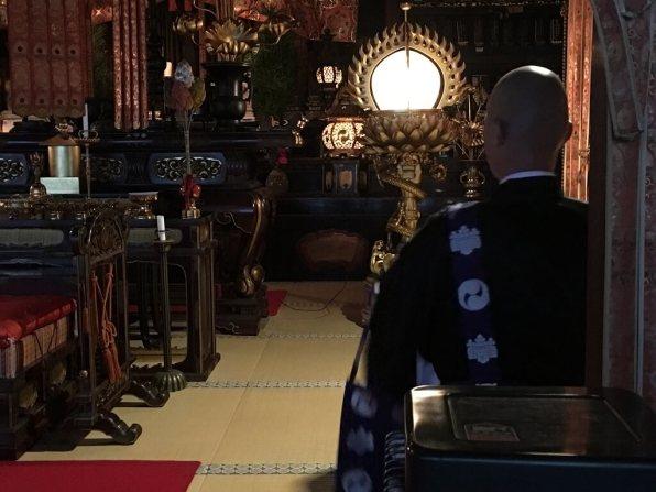 Buddhist services, Japan experiences