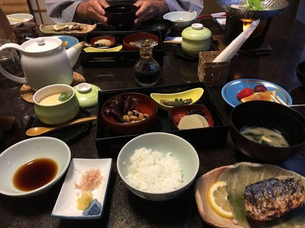 Veggie meal, Japan experiences