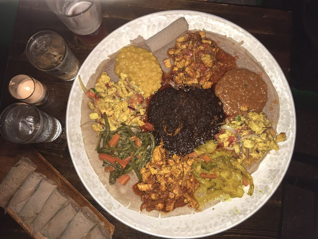 authentic ethnic restaurants in New York City offer injera