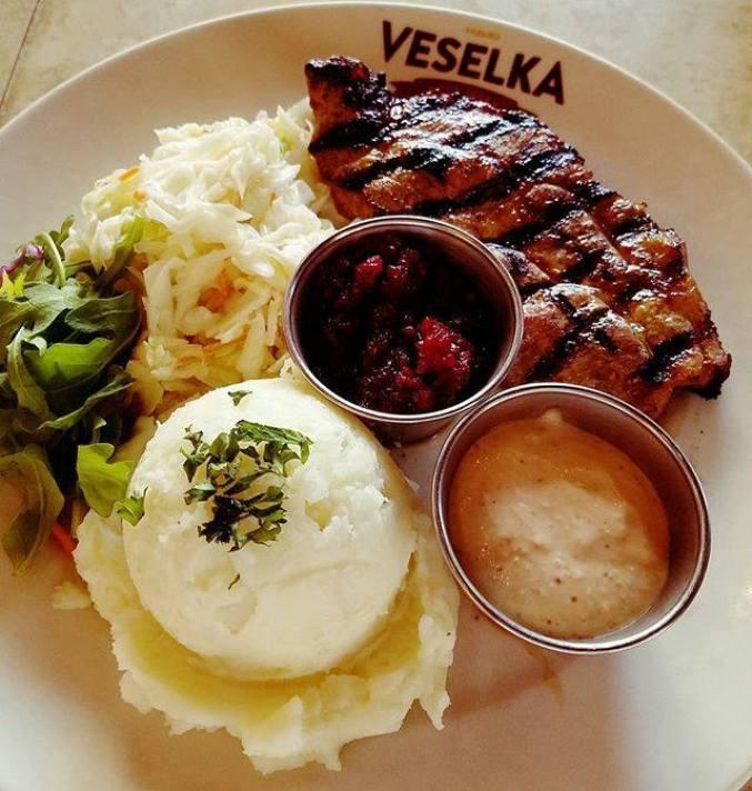 Authentic ethnic restaurants in New York City offer Ukranian food.