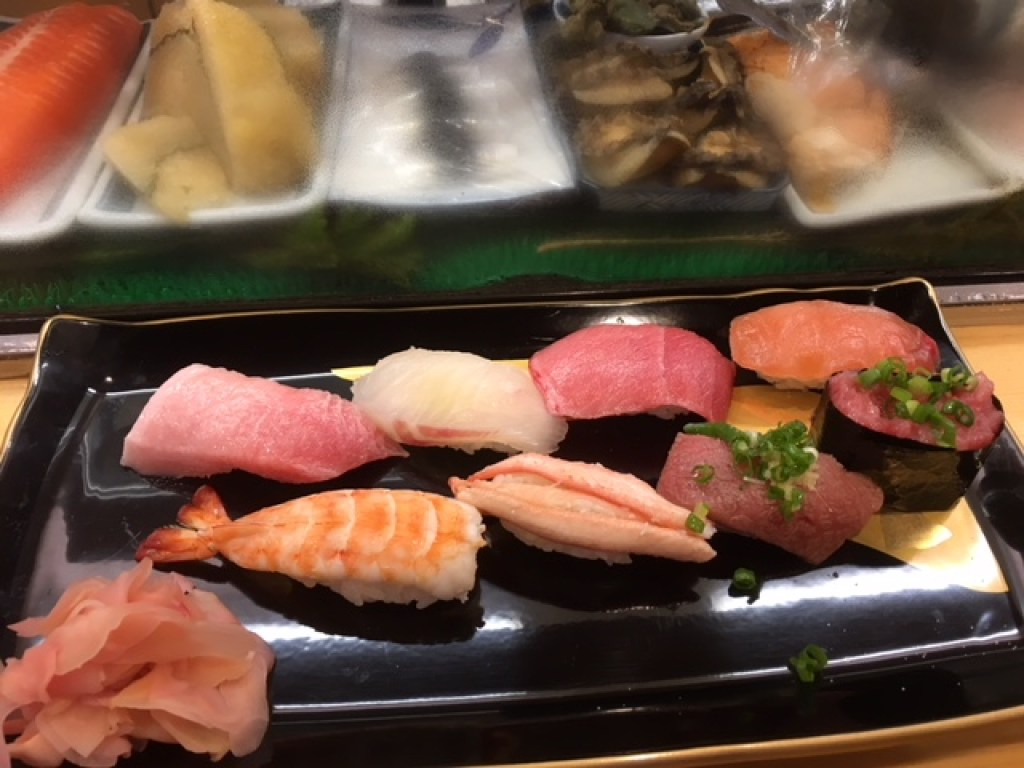 authentic ethnic restaurants in New York City offer sushi