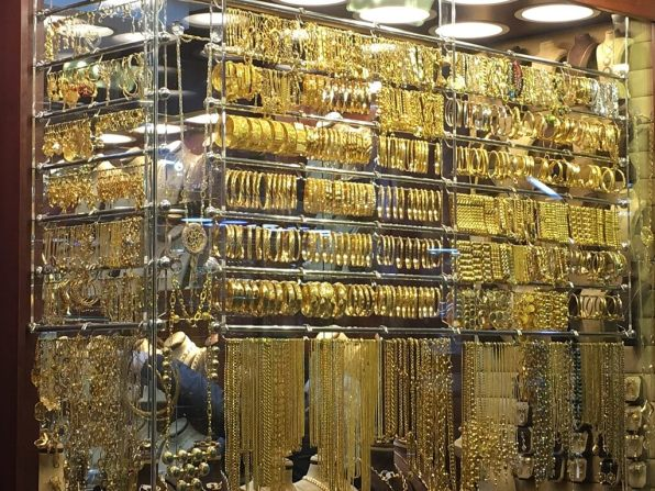 Gold souk is one of Jardanian attractions