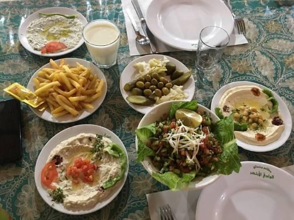 Mezze is one of the Jordan attractions