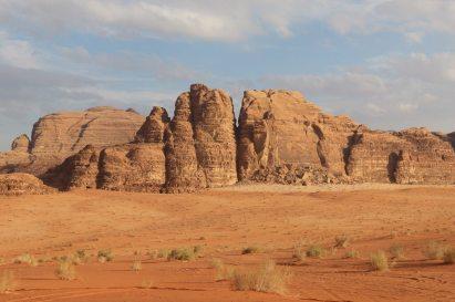 Mountain outside desert Camp 1