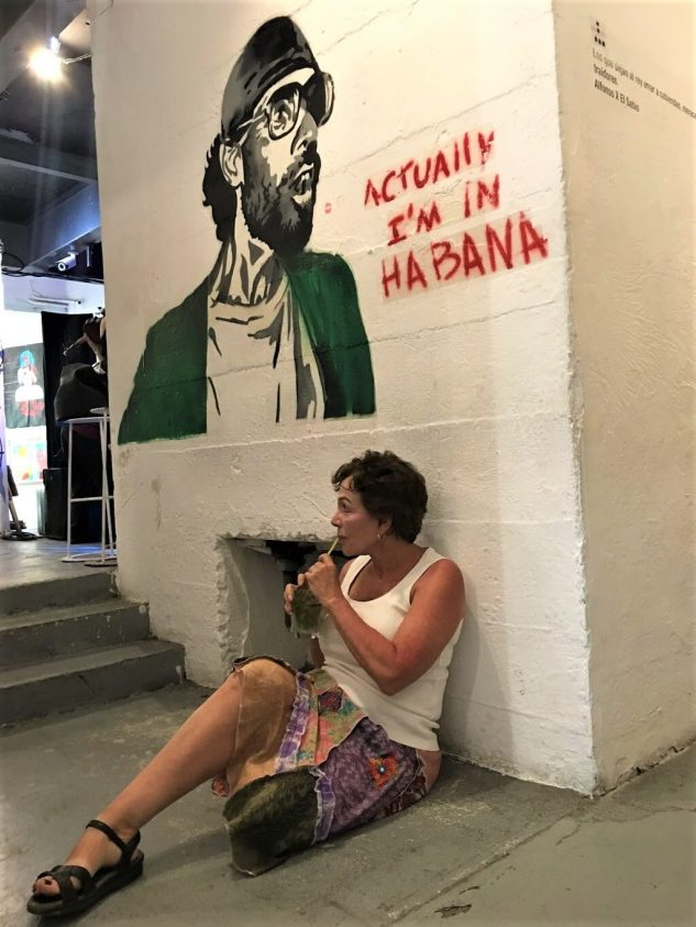 Talek in the F.A.C. on the Cuba Cultural Tour