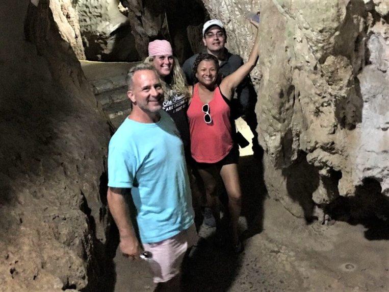 Visiting Cuba's undergroud cave system