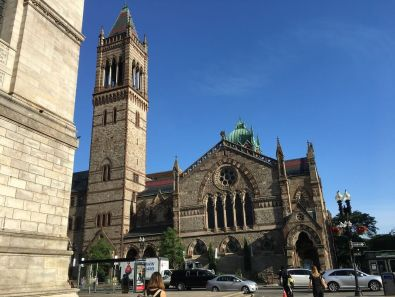 Old South Church Boston's Copley Square a great place to visit for first timers