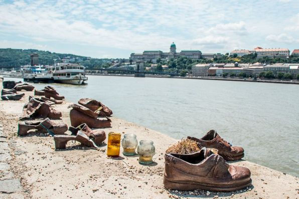 Shoes on the Danube Promenade in Budapest