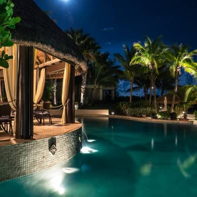 The pool and the Palapa Grill