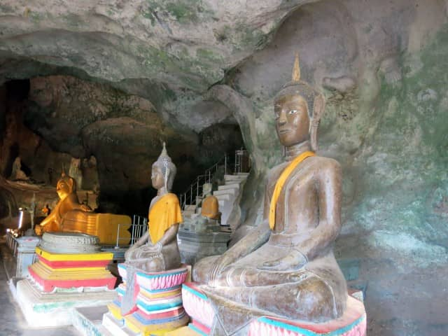 Beautiful temple in cave