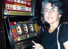 Betty loved the slots!